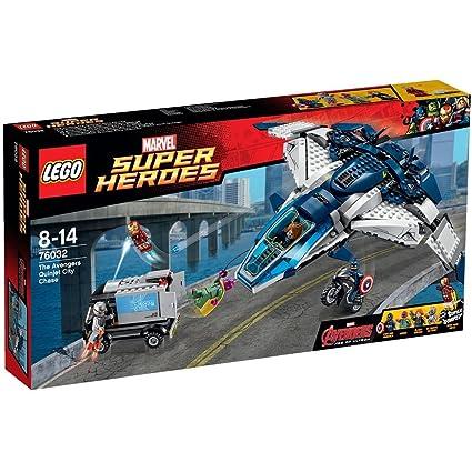 LEGO - 76032 - Marvel Super Heroes - La poursuite du Quinjet des Avengers