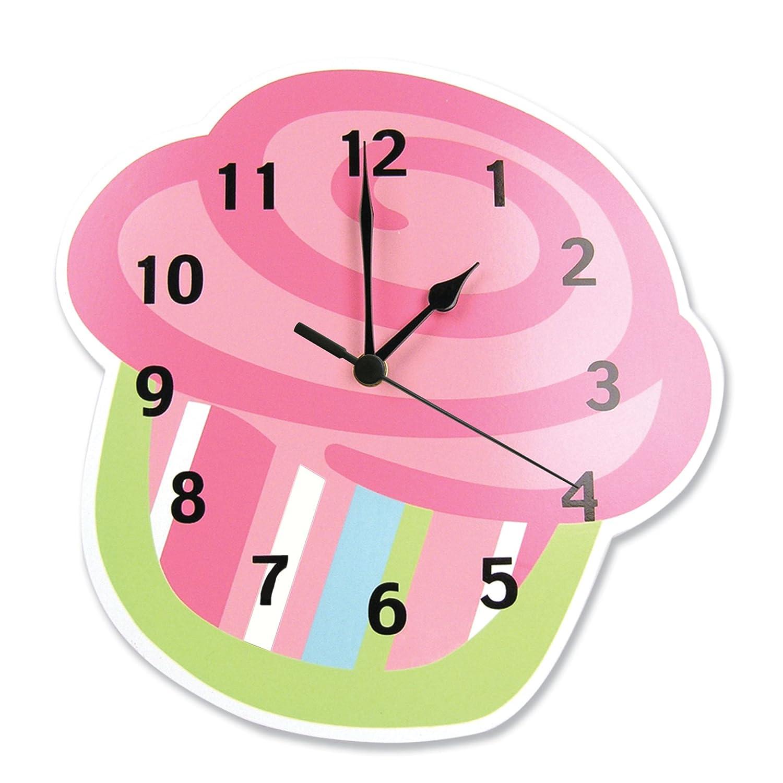 Reloj de pared en forma de cup cake quequito kekito hm4 - Reloj para pared ...