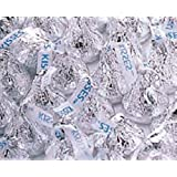 Silver Hershey's Kisses Milk Chocolate Candy 5LB Bag (Color: Silver, Tamaño: 5 Pounds)