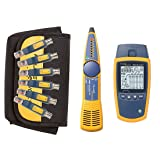 Fluke Networks MS2-KIT Network Cable Tester Kit with Probe (Tamaño: MS2-KIT w/Tone and Probe)