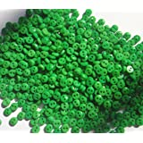 Lyracces Wholesale Lots 1000pcs Mini Small Dot Baby Craft DIY Sewing Fasteners Flatback Resin Buttons 5mm (Green) (Color: Green)