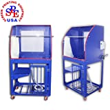 Multi-function Stand Type Screen Printing Frame Washout Tank with LED Backlight Screen Printing Equipment