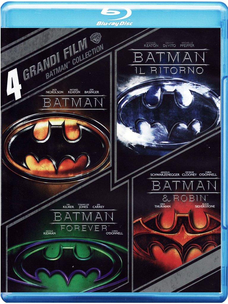Batman - 4 Grandi Film (4 Blu-Ray) [Italia] [Blu-ray]