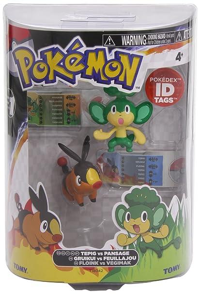 Pokémon - T18000 - Pack de Deux Mini Figurines - Modèle Aléatoire