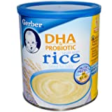 Gerber Rice Cereal with DHA - 8 oz
