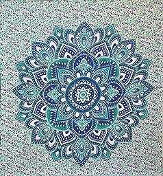 Jaipurhandloom Christmas Gift BIG Mandala Hippie Tapestry, Hippie Wall Hanging Tapestries, Bohemian Tapestries, Queen Mandala Home Decor