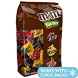 M&M'S Variety Mix Chocolate Fun Size Candy 85.23-Ounce 150-Piece Bag (Color: Basic, Tamaño: 150 Count)
