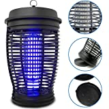 EasyGoProducts Zapper - Mosquito Bug Killer Trap - Powerful 18 Watt Light Lamp - Indoor and Outdoor Use