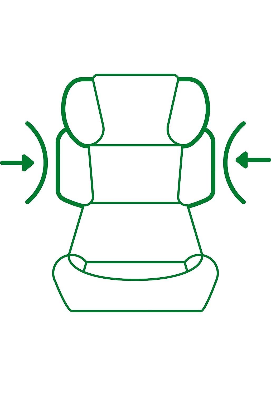 cybex silver kinderautositz solution x fix gruppe 2 3 15 36 kg guter sitz meiner meinung. Black Bedroom Furniture Sets. Home Design Ideas