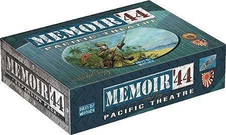Asmodee - MEM05 - Jeu de stratégie - Extension Guerre du Pacifique - Mémoire 44