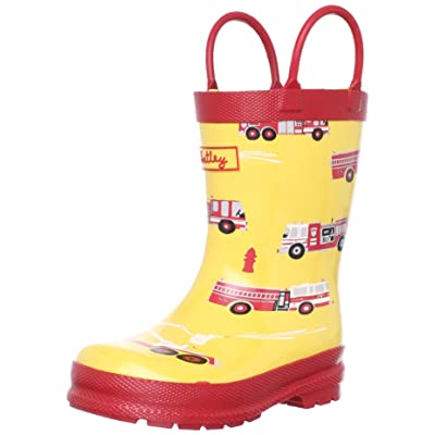 Hatley Kids Fire Trucks Wellingtons Boot