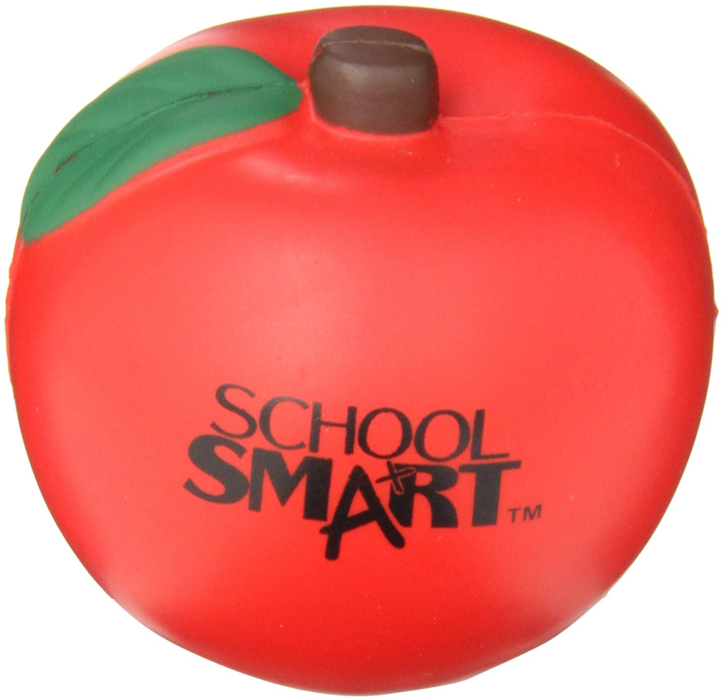 School Smart Apple Shape Stress Ball
