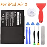 HDCKU Battery Replacement Kit for iPad Air 2 A1566, A1567 with Full Set Repair Tools (Color: For iPad Air 2)