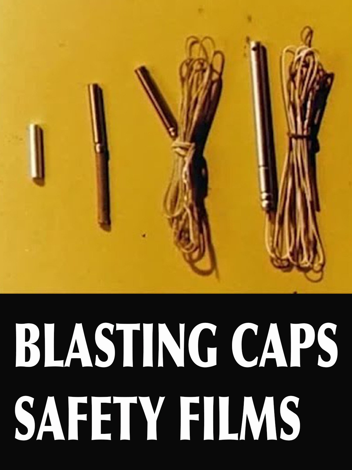 Blasting Caps Safety Films