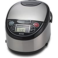 Tiger JAX-T10U Multi-Functional Rice Cooker 5.5 Cups (Stainless Steel)