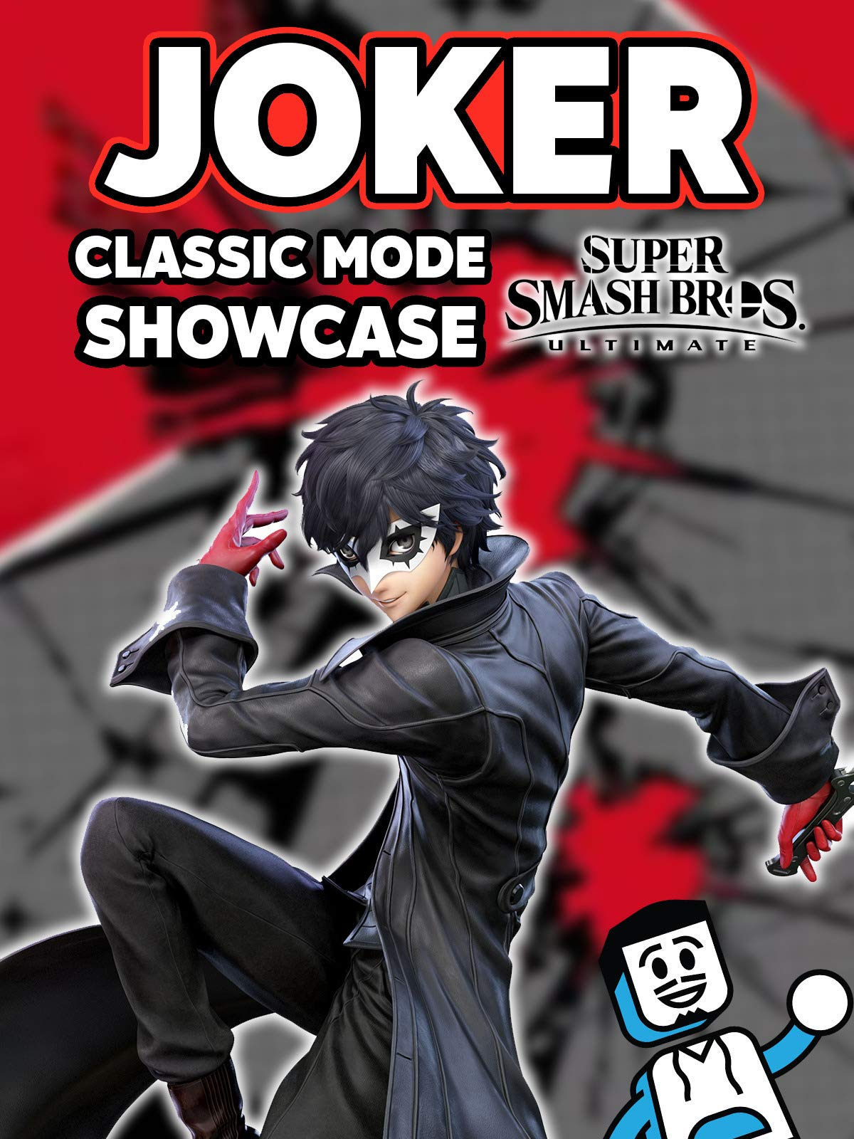 Clip: Joker Classic Mode Showcase in Super Smash Bros Ultimate