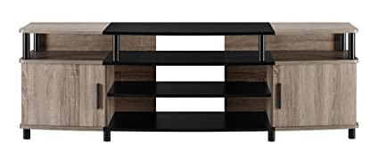Altra Furniture Carson TV Stand, For TV's up to 50-Inches, Sonoma Oak