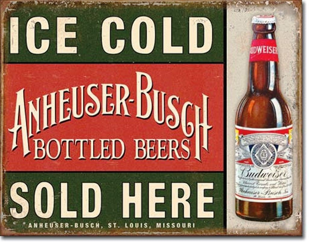 Buy Anheuser Busch Sign Now!