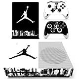 L'Amazo Best Sport American football basketball baseball style XBOX ONE SLIM Skin Designer Game Console System p 2 Controller Decal Vinyl Protective Covers Stickers for XBOX ONE S (Street Air) (Color: Street Air)
