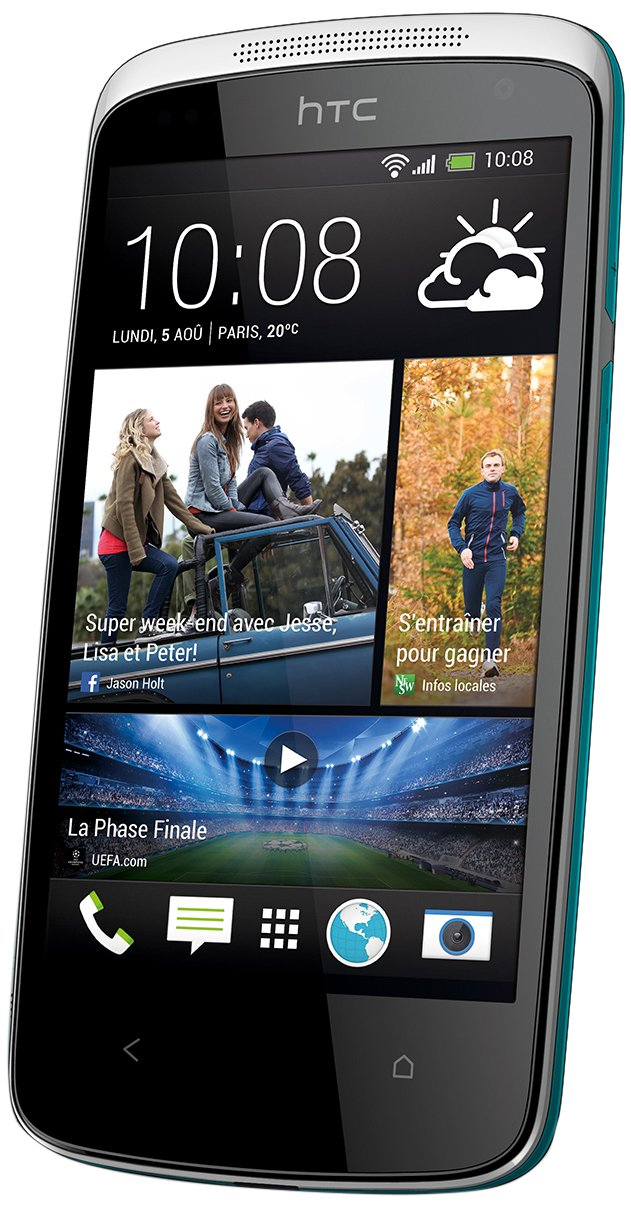 Smartphone HTC DESIRE 500 BLEU 4GO