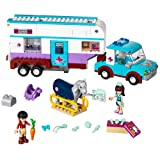 LEGO 41125 Horse Vet Trailer Building Kit, (370 Piece) (Color: Multi-colored, Tamaño: 370 Piece)