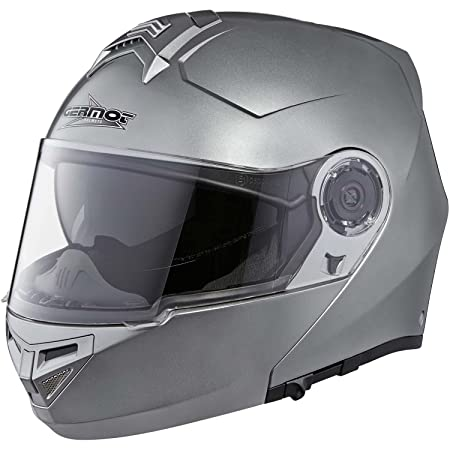 Germot gM 940 casque à visière en polycarbonate/aBS-anthracite