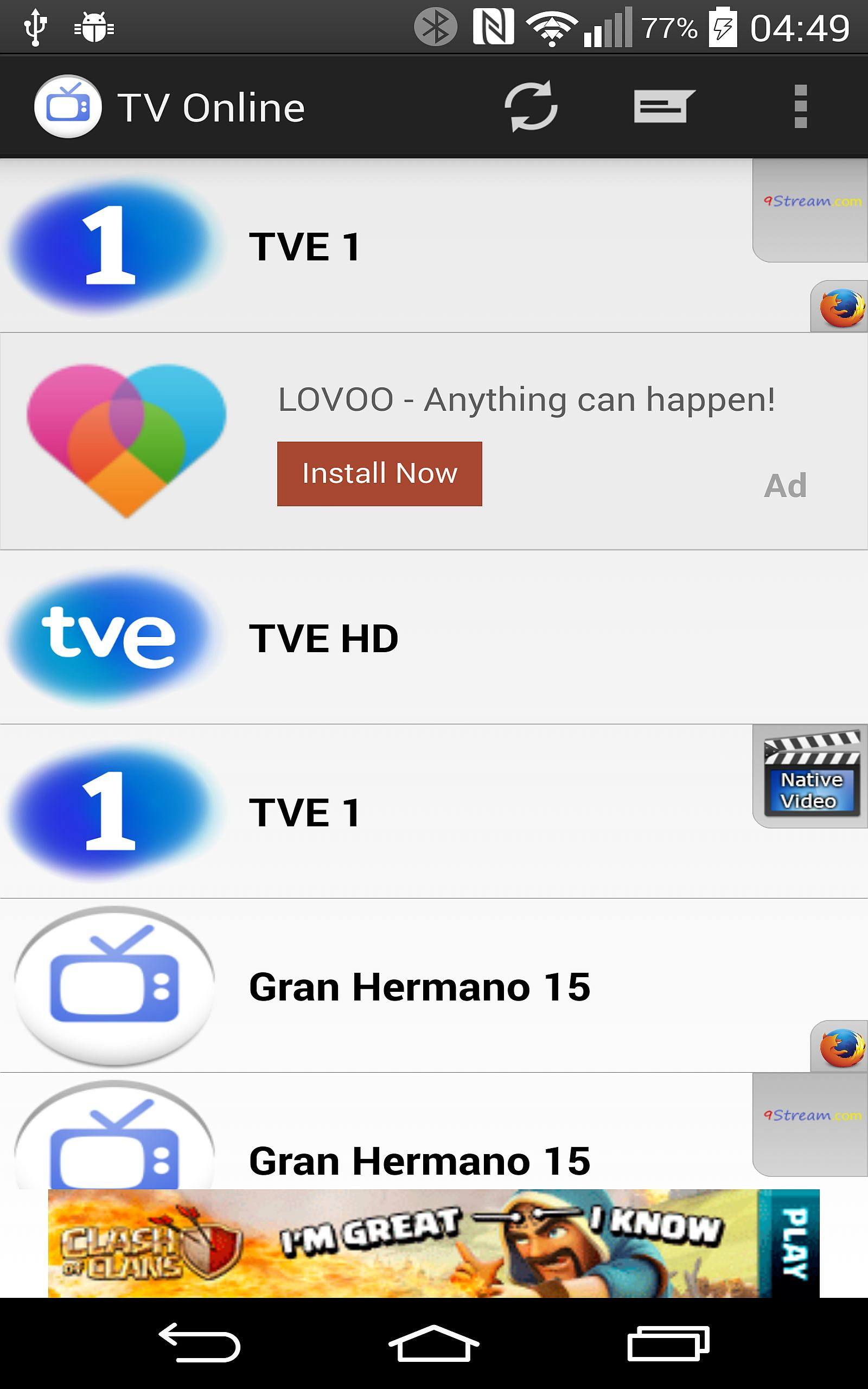 Amazon.com: TV Gratis Online: Appstore for Android