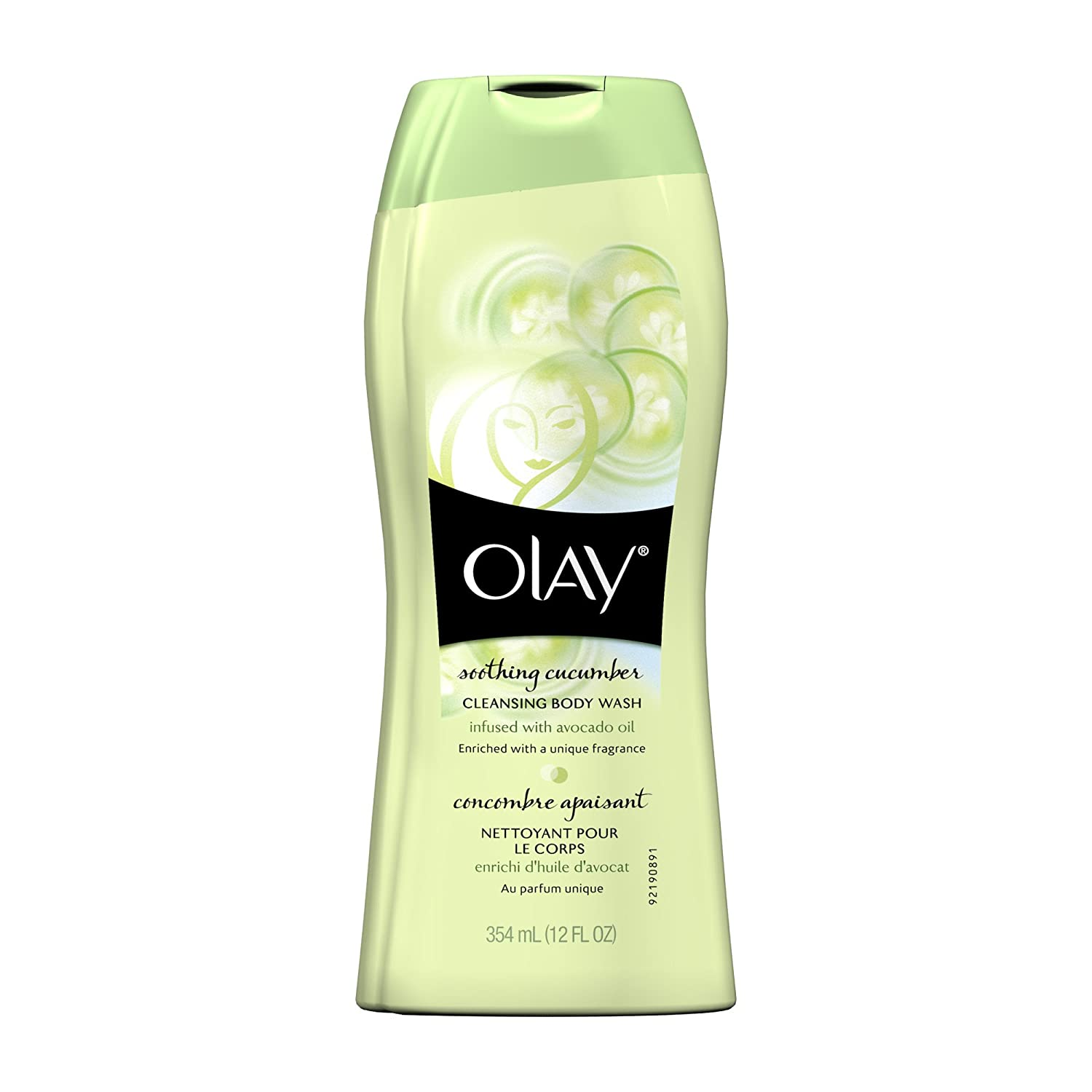 Olay Soothing Cucumber Cleansing Body Wash, 12 Fluid Ounce (Pack of 2) $5.82 with $1 coupon