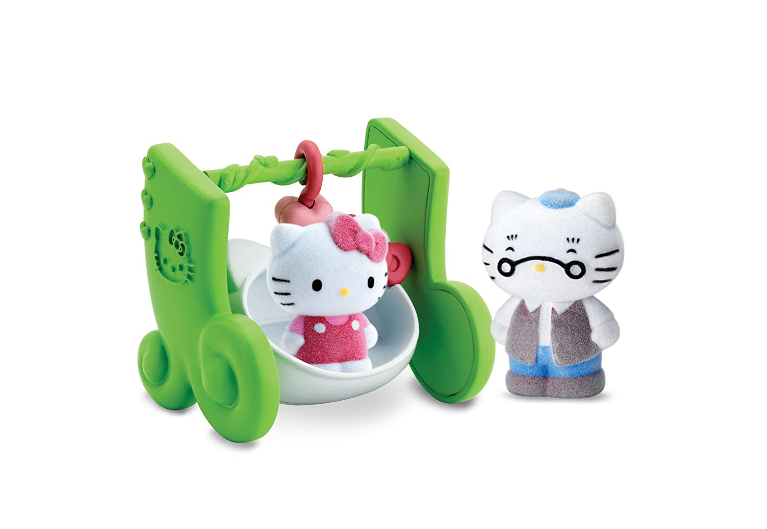 Details about HELLO KITTY PLAY TOY SWEETIE SWING FUN TOYS PLAYSET FOR