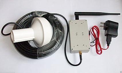 onetak Amplificateur répéteur de signal GPS Kit complet de transfert de distance 15m