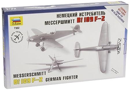 Zvezda - Z7302 - Maquette - Aviation - Messerschmitt Bf109f-2