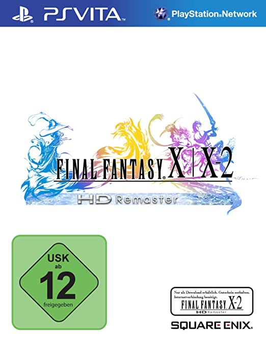 Final Fantasy X/X-2 HD Remaster, PS Vita