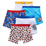 Handcraft Nickelodeon Toddler Little Boys' Paw Patrol 5 Pack Boxer Brief Underwear Size 2T/3T