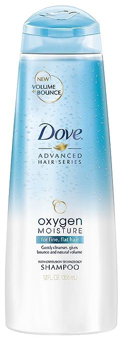 Dove Shampoo, Oxygen Moisture 12 oz