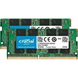 Crucial 32GB Kit (16GBx2), 260-pin SODIMM, DDR4 PC4-21300, (Tamaño: 32GB Kit (16GBx2) Dual Rank)