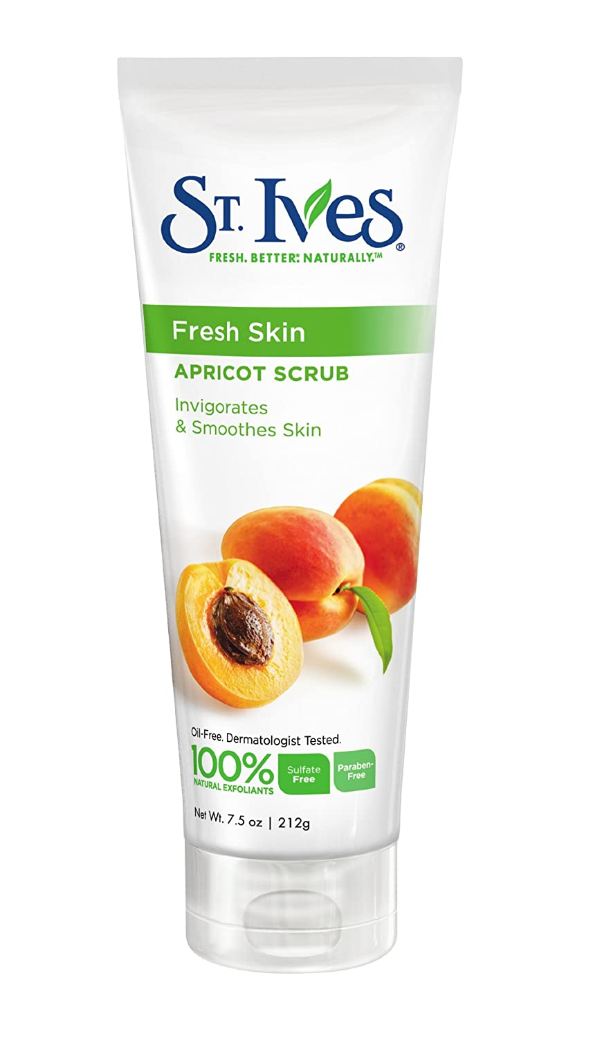 St. Ives Fresh Skin Invigorating Apricot Scrub $2.27 with $1 coupon