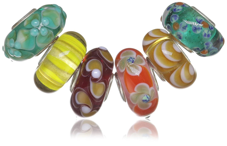 Trollbeads Damen-Bead Universal Unikate Glas 6er Set 65006 online bestellen