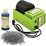WireJewelry Single Barrel Rotary Tumbler, Jewelry and Metal Polishing Kit, Includes 1 Pound of Jewelers Mix Shot and 8 Ounces of Shinebrite Burnishing Compound (Tamaño: Jewelers Kit)