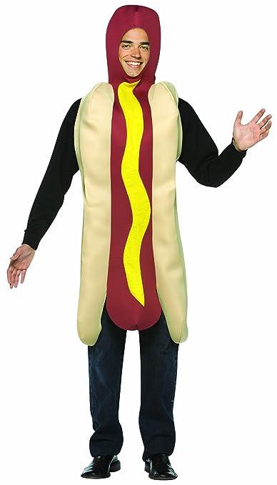 HOT DOG COSTUME ADULT Hot Dog Costume