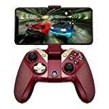 GameSir M2 iOS MFI Wireless Gaming Controller Gamepad for iPhone iPod iPad Mac Apple TV, Red