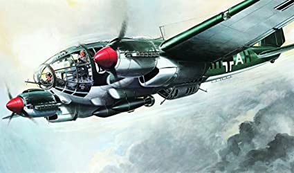 Italeri - I121 - Maquette - Aviation - Heinkel HE111H-6 - Echelle 1:72