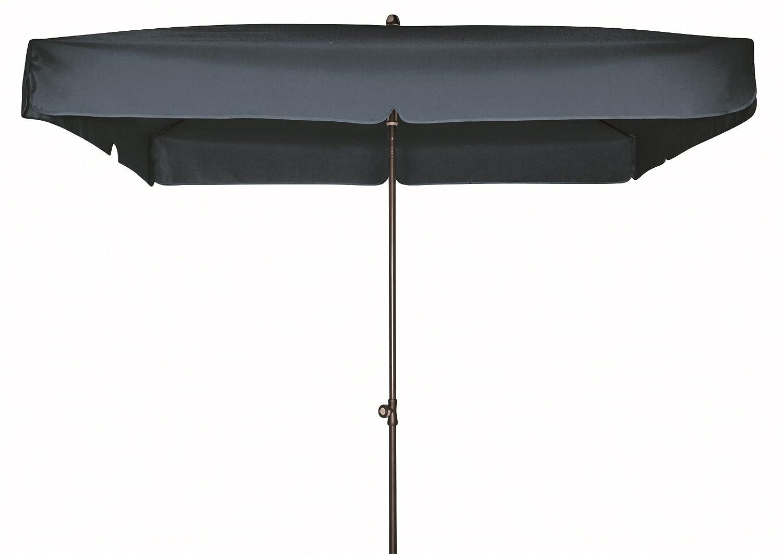 Doppler Gartenschirm Sun Line III 200×200 quadratisch mit UV-Schutz 50, Farbe anthrazit günstig bestellen
