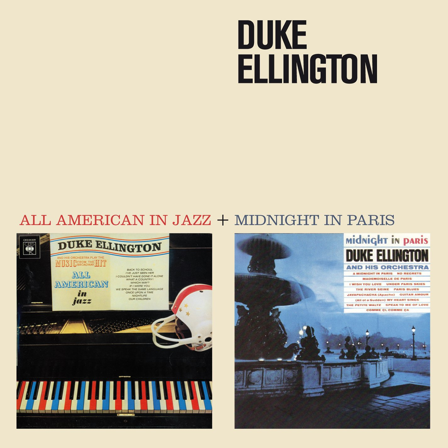 All American in Jazz + Midnight in Paris (Bonus Track Version)