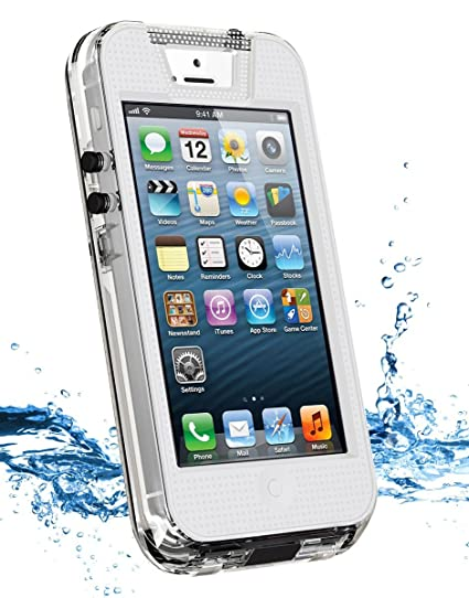 iContact Waterproof Case for iPhone 5 5S Retail Packaging