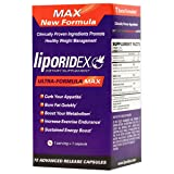 Liporidex MAX w/ Green Coffee - Ultra Formula Thermogenic Weight Loss Supplement Fat Burner Metabolism Booster & Appetite Suppressant - The easy way to lose weight fast! - 72 diet pills - 1 Box.