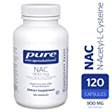 Pure Encapsulations - NAC (N-Acetyl-L-Cysteine) 900 mg - Amino Acids to Support Antioxidant Defense and Healthy Lung Tissue - 120 Capsules (Tamaño: 900 mg - 120 Count)