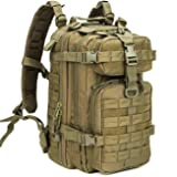 WolfWarriorX Military Tactical Assault Backpack Hiking Bag Extreme Water Resistant Small Rucksack Molle Bug Out Bag for Traveling, Camping, Trekking & Hiking (O.D.Green) (Color: O.D.Green, Tamaño: Small)