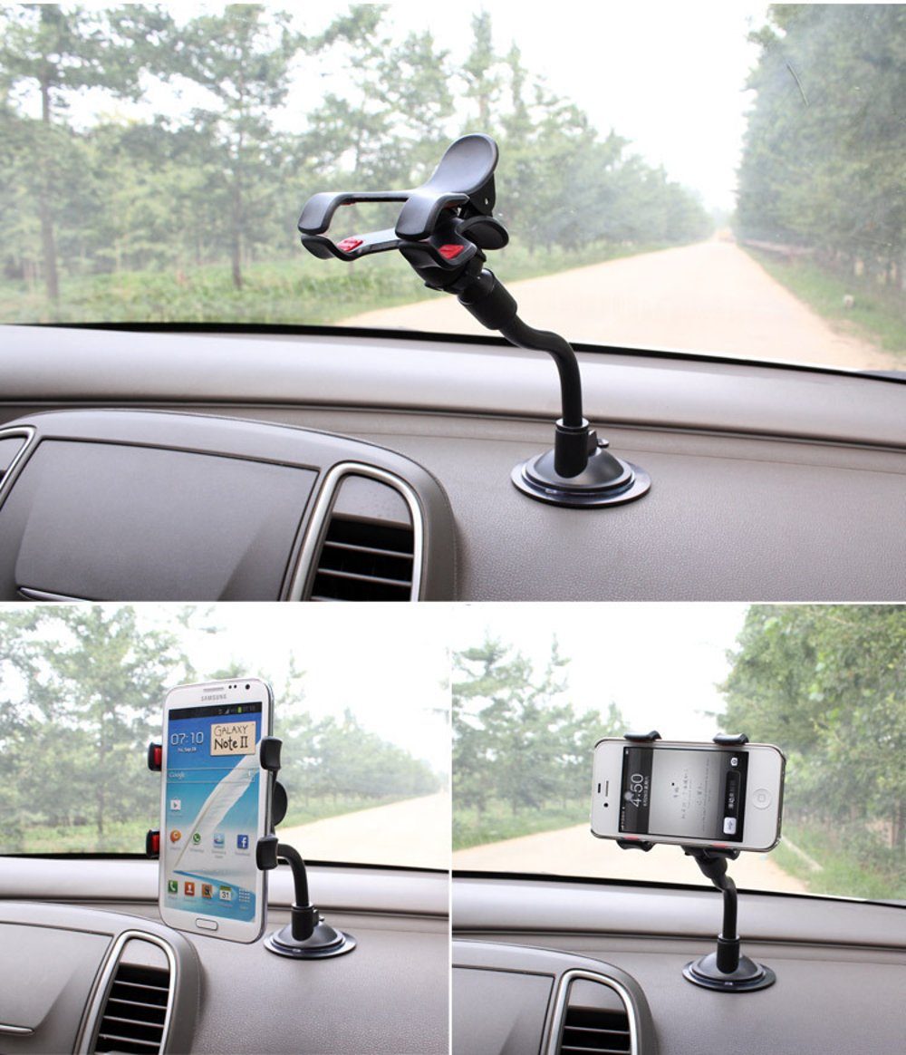 suction cup phone holder for car