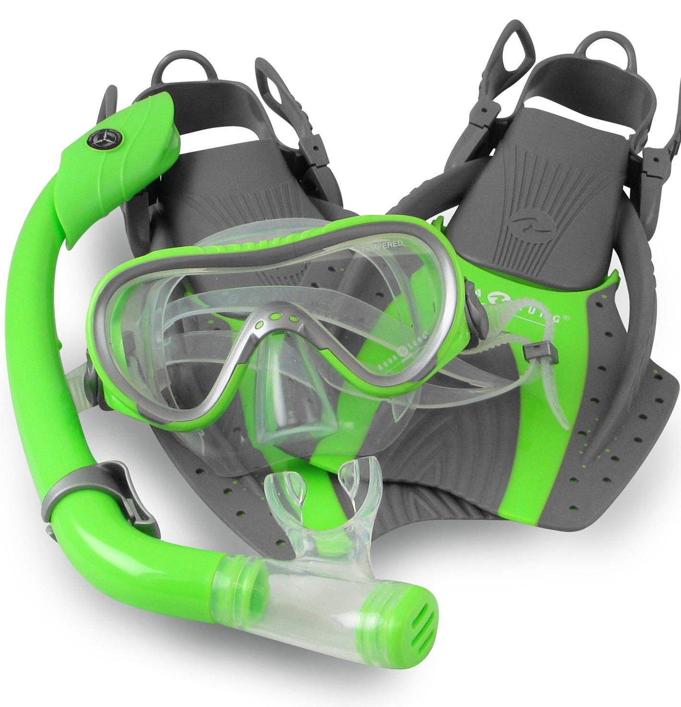 Aqua lung snorkel set