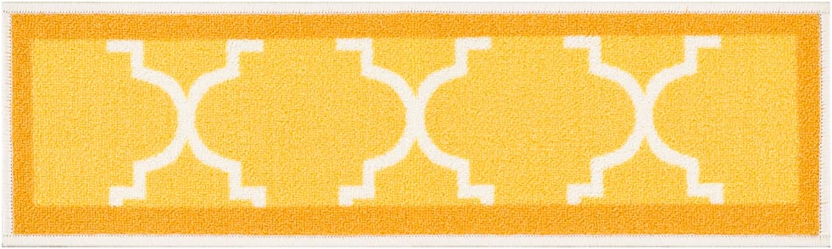Set Of 7] Gold Yellow Stair Tread Rugs | Modern Design ...